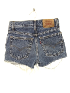 1990's Womens/Girls Denim Cut Off Shorts