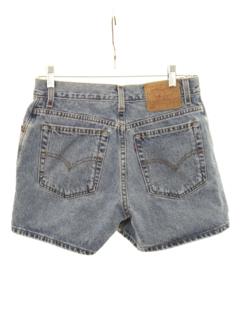 1990's Womens Denim Boyfriend Shorts