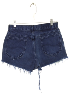 1980's Womens Denim Cut Off Shorts