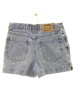 1980's Womens High Waisted Denim Mom Shorts