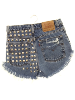 1990's Womens Wicked 90s Custom Cut Off Denim Shorts
