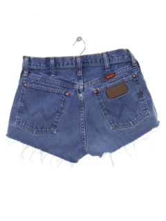 1980's Womens Totally 80s High Waisted Denim Cutoff Shorts