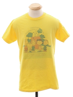 1980's Womens Peanuts TV Show Themed Totally 80s T-Shirt