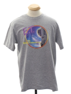1980's Unisex Totally 80s E.T. TV Show Themed T-Shirt