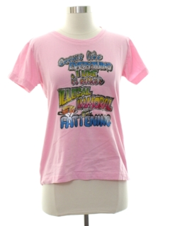 1970's Womens Cheesy Sex Themed T-Shirt