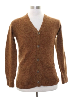 1960's Unisex Ladies or Boys Mod Cardigan Sweater