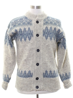 1980's Mens Danish Wool Sweater