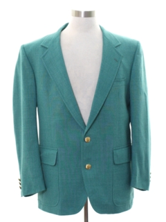 1980's Mens Totally 80s Preppy Blazer Sport Coat Jacket