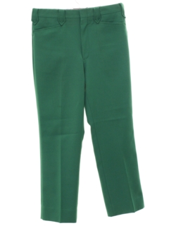 1970's Mens Flared Mod Western Style Leisure Pants