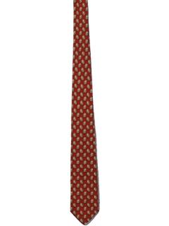 Vintage 60s Red and Blue WARRIOR Necktie