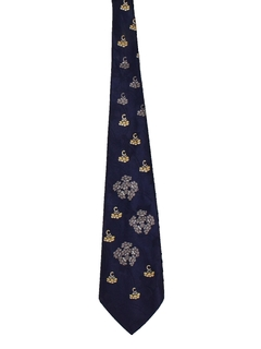 1940's Mens Wide Abstract Swing Necktie
