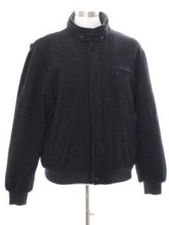1980's Mens Wool Members Only Jacket