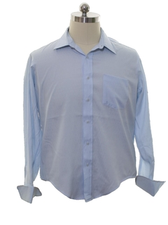 1980's Mens Mod French Cuff Shirt