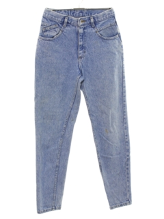 1980's Womens Highwaisted Totally 80s Denim Jeans Pants