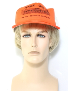1970's Unisex Accessories - Trucker Hat