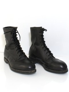 1980's Mens Accessories - Combat Boots Shoes