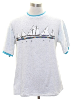 1990's Mens Travel T-shirt