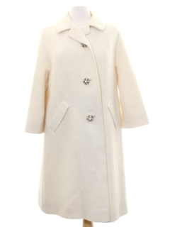 1960's Womens Duster or Opera Coat Jacket