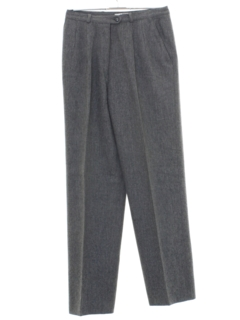 1980's Womens Wool Slacks Pants
