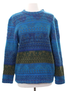 1980's Womens Designer Totally 80s Sweater
