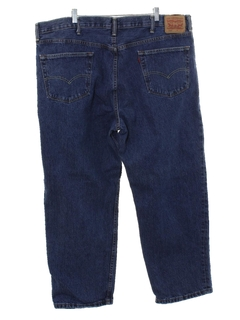 1990's Mens Levis 550 Relaxed Straight Leg Denim Jeans Pants