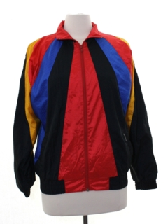 1980's Womens Totally 80s Style Members Only Jacket