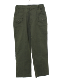 1960's Mens Mod Boy Scout Pants