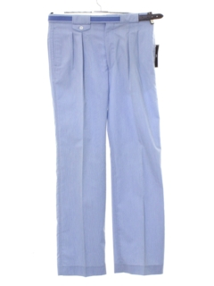 1980's Mens Totally 80s Designer Preppy Pants