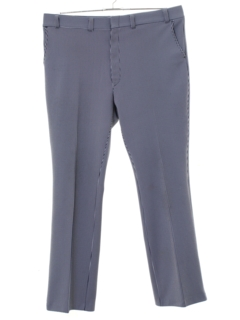 1970's Mens Striped Flared Disco Pants