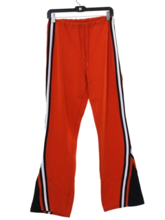 1970's Mens Bellbottom Track Pants