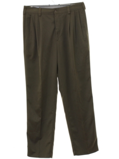 1980's Mens Totally 80s Designer Pleated Pants