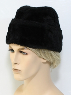 1960's Mens Accessories - Fake Fur Hat