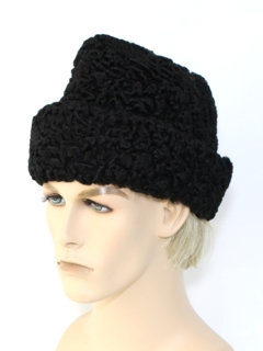 1960's Mens Accessories - Fur Hat