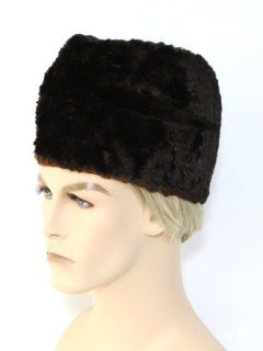 1950's Mens Accessories - Fur Hat