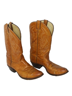 1980's Mens Accessories - Western Boots Shoes