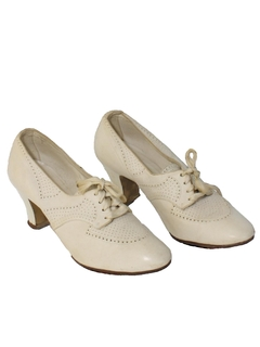1930's Womens Accessories - Shoes