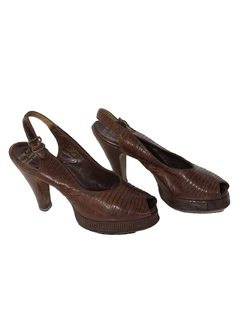 1940's Womens Accessories - Shoes
