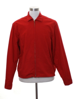 1950's Mens Mod Scouting Zip Jacket