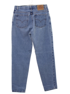 1990's Womens Levis 550 Relaxed Tapered Leg Denim High Waisted Mom Jeans Pants