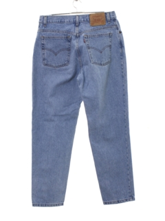 1990's Womens High Waisted Levis 550 Relaxed Tapered Leg Denim Mom Jeans Pants