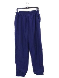 1980's Mens Baggy Totally 80s Style Track Pants