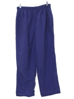 1980's Womens Baggy Totally 80s Style Track Pants