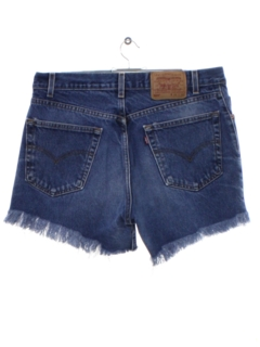 1990's Unisex Levis Wicked 90s Cut Off Denim Shorts