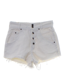 1990's Womens Wicked 90s Denim Cut Off Jeans Shorts