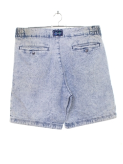 1990's Mens Wicked 90s Acid Washed Denim Shorts