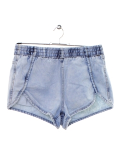 1990's Womens Acid Washed Denim Shorts