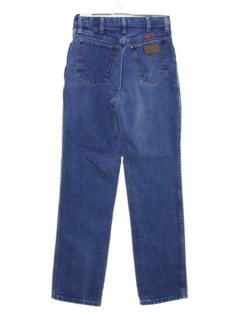 1980's Unisex Straight Leg Denim Jeans Pants