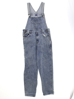 1980's Mens Acid Washed Denim Overalls