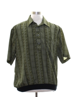 1990's Mens Resort Wear Shirt