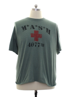 1990's Unisex Army Military T-shirt